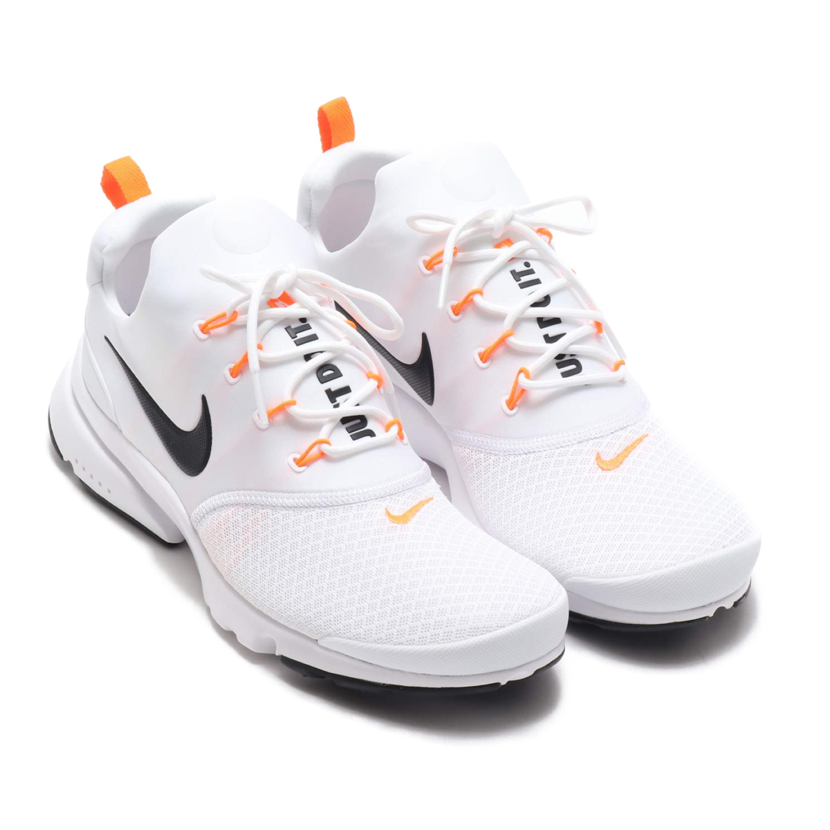 d4520732986 NIKE PRESTO FLY JDI (Nike presto fly JDI) WHITE BLACK-TOTAL ORANGE 18FA-S
