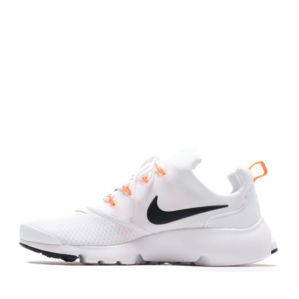 e1ba411cbab54 NIKE PRESTO FLY JDI (Nike presto fly JDI) WHITE BLACK-TOTAL ORANGE 18FA-S