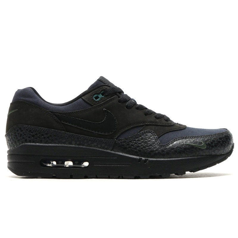 NIKE AIR MAX 1 PRM (나이키에 어 맥스 1 프리미엄) BLACK/BLACK-BONSAI 16SP-I