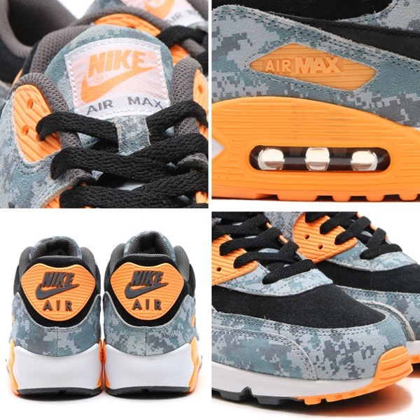 NIKE AIR MAX 90 PRM (나이키에 어 맥스 90 프리미엄) BLUE FOX/BLUE FOX-OZONE BLUE/MIST BLUE-PEACH CREAM 16SP-I