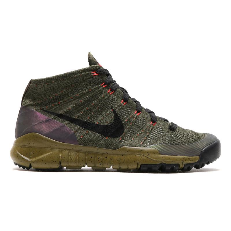sale retailer c2ddd 7f9cc ... NIKE FLYKNIT TRNR CHUKKA FSB (Nike Flint trainers chukka FSB)  SEQUOIABLACK 15HO ...