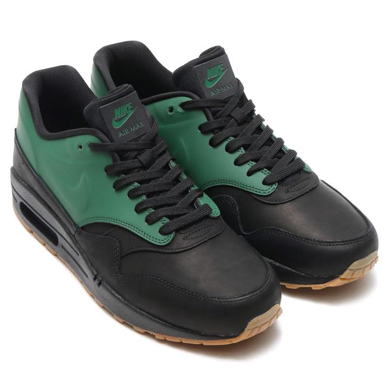 NIKE AIR MAX 1 VT QS (Nike Air Max 1 VT QS) GORGE GREEN/BLACK/GUM DARK  BROWN 15HO-S