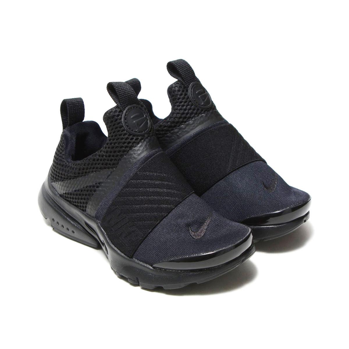 Black // Black 870023-001 Nike Presto Extreme Preschool Sneakers