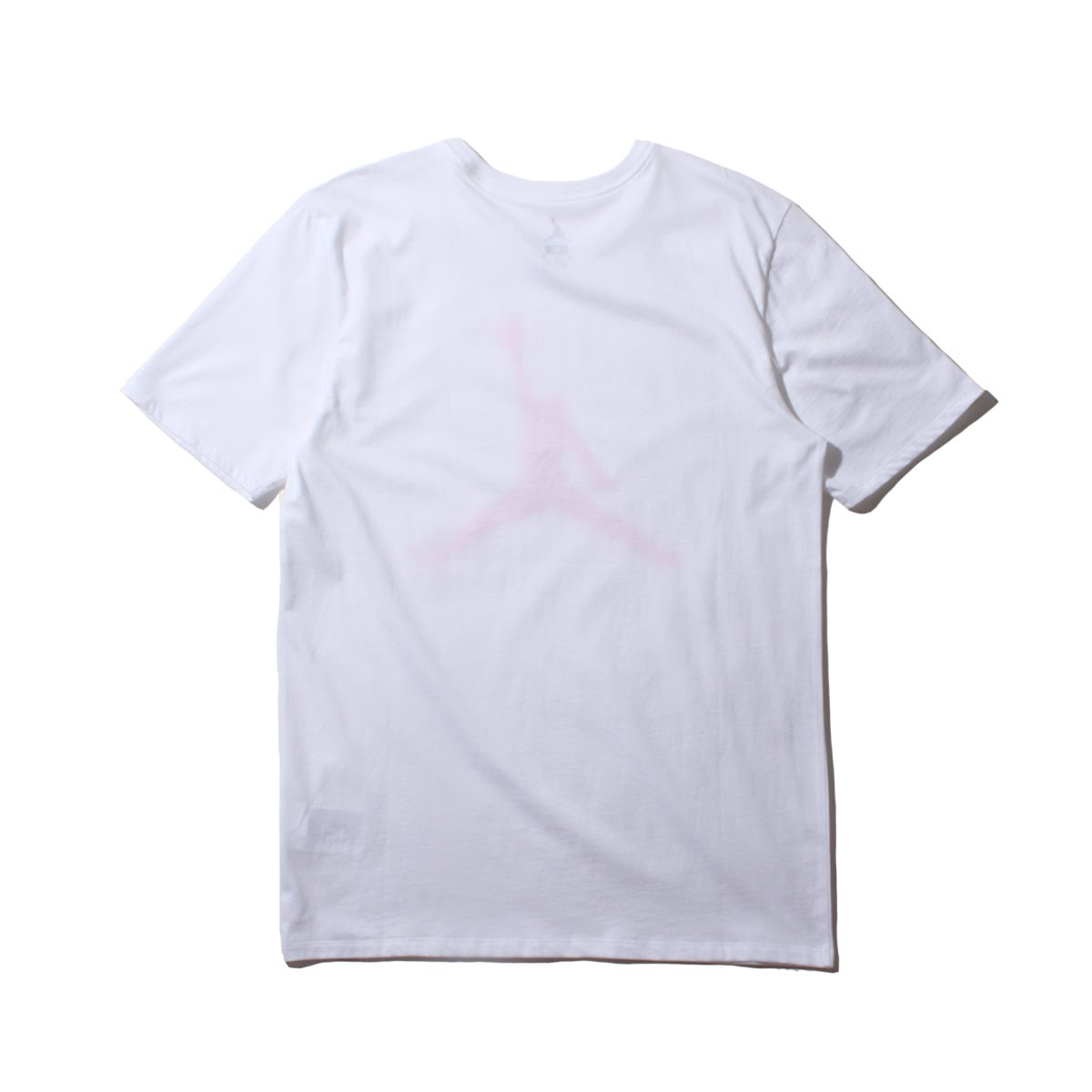 199f6d49a880ea NIKE M JSW TEE ICONIC JUMPMAN (Nike Jordan icon logo S S T-shirt) WHITE INFRARED  23 18SU-I