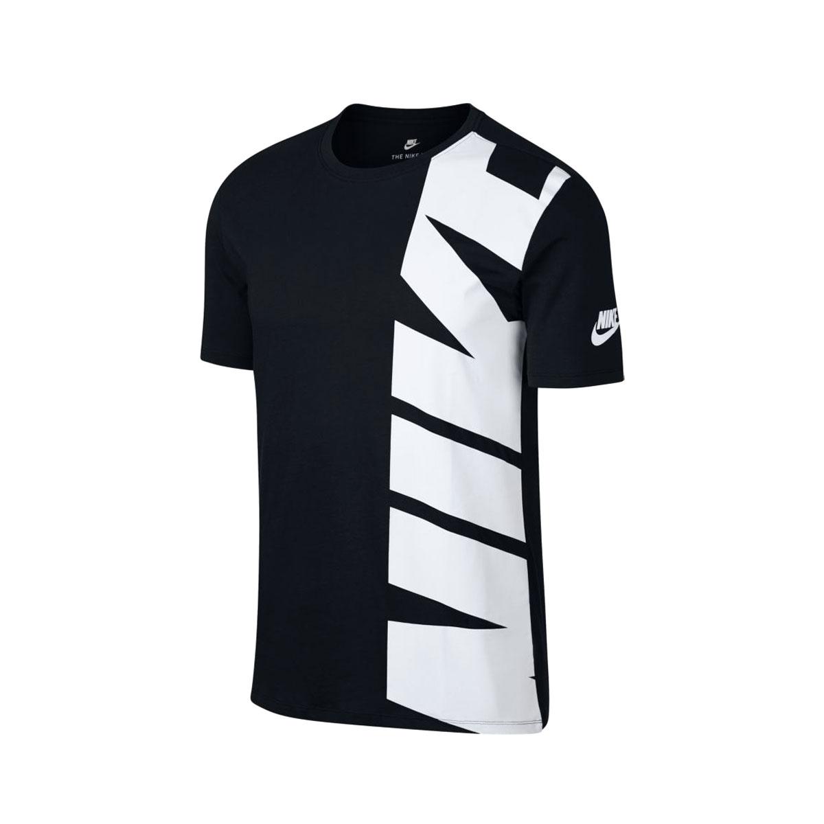 336931bd20 atmos pink  NIKE AS M NSW TEE HYBRID 1 (Nike hybrid T-shirt 1) BLACK ...