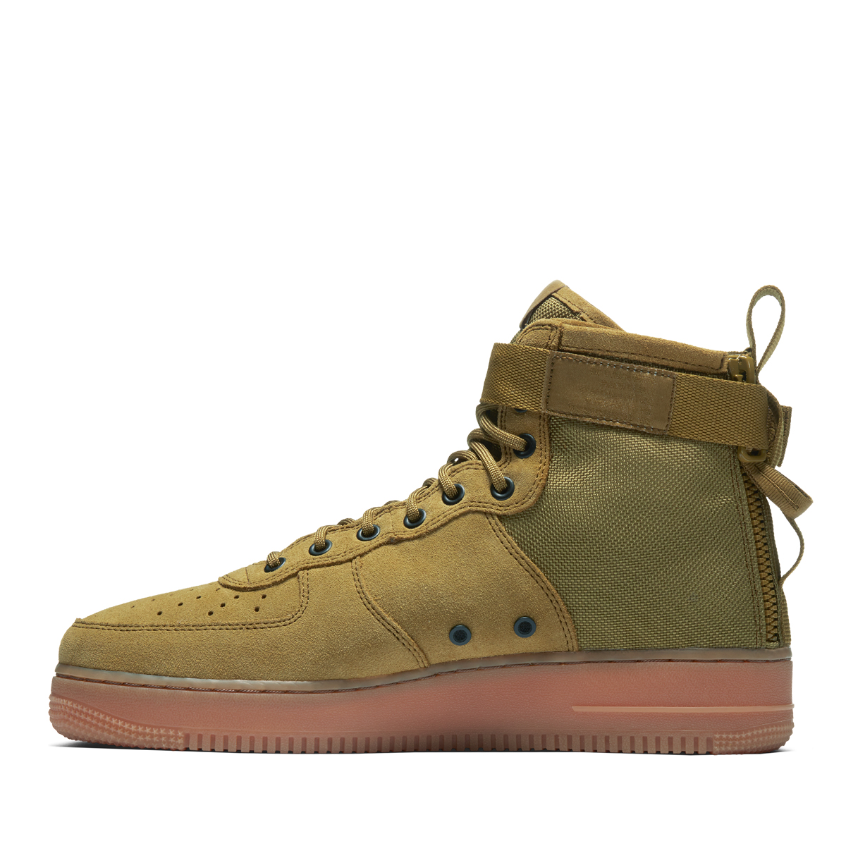 watch f9bc5 53c0e NIKE SF AF1 MID (Nike special field air force 1 mid) DESERT MOSS DESERT MOSS-GUM  MED BROWN 18SP-I