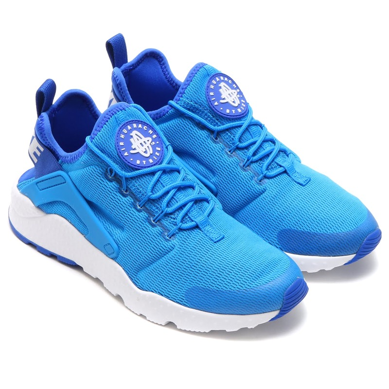 NIKE WMNS AIR HUARACHE RUN ULTRA (Nike wmns air halti run ultra) PHOTO BLUEWHITE 16SP I