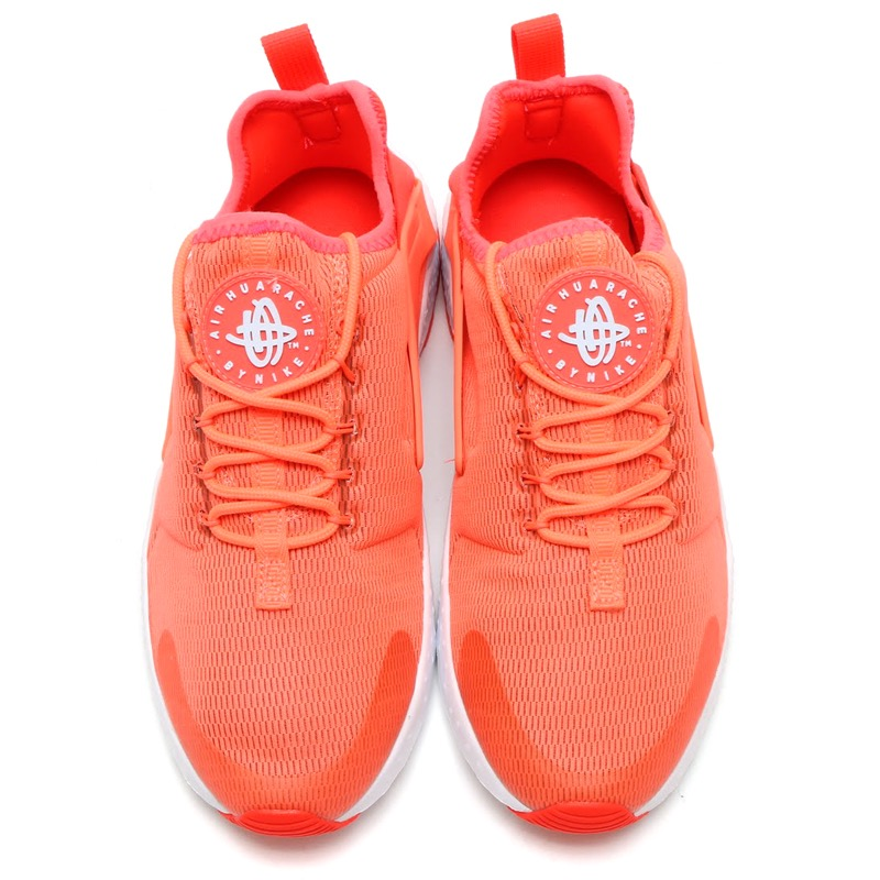 info for a21b9 04eb9 NIKE WMNS AIR HUARACHE RUN ULTRA (Nike wmns air halti run ultra) BRIGHT  MANGO WHITE 16SP-I