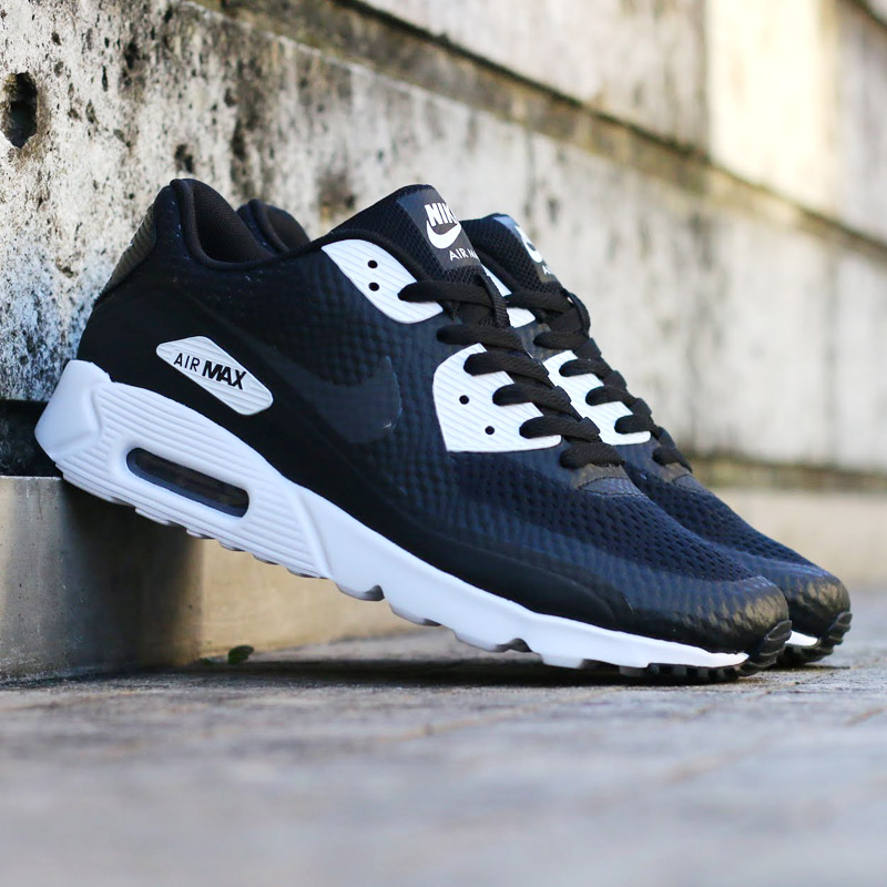 nike air max 90 ultra essential black/anthracite-white