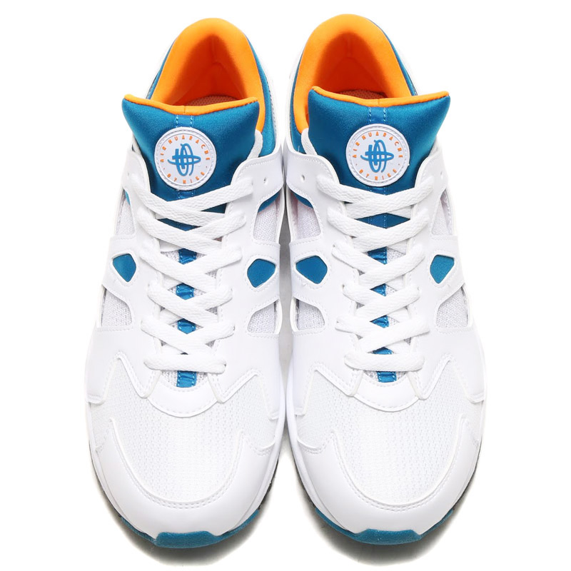 5ddaeed90ee71 Marathon time store all points up to 20 times! NIKE AIR HUARACHE  INTERNATIONAL (Nike Air halti international) WHITE GREEN ABYSS-CITRUS GREY  MIST 16SP-S