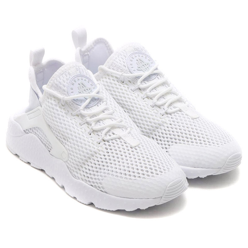 best sneakers bff95 af4ff NIKE WMNS AIR HUARACHE RUN ULTRA BR (Nike wmns air halti run ultra Breeze)  WITE WITE-pure PLATINUM 16SU-I