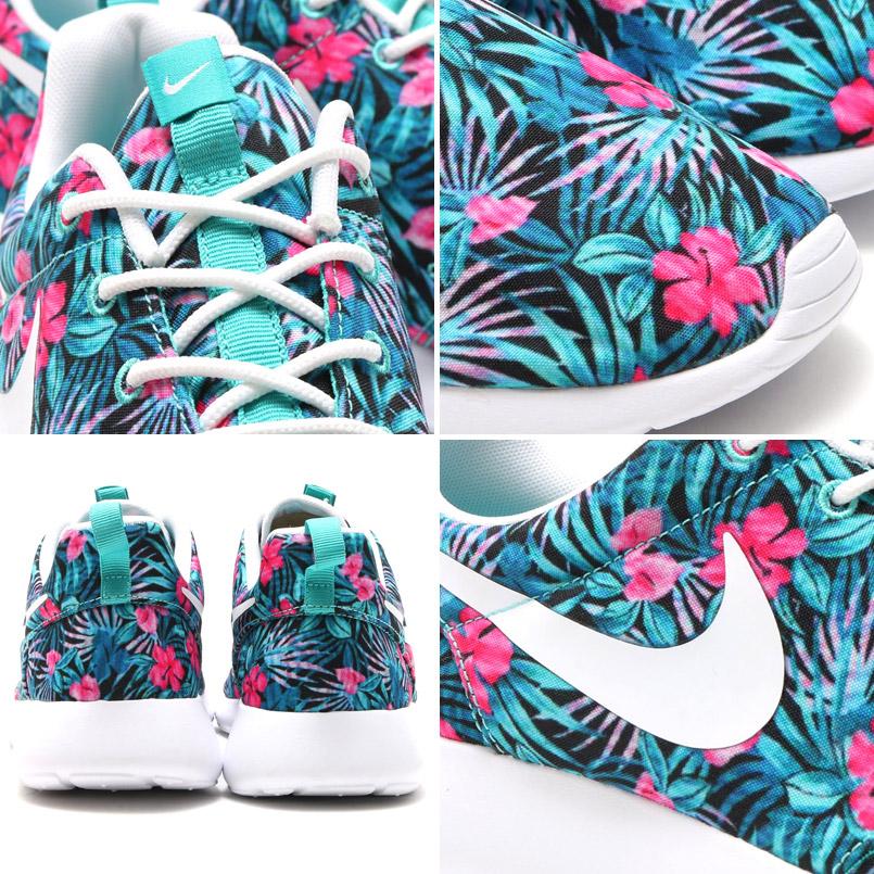NIKE ROSHE ONE PRINT PREM (print Nike Ros one premium) WASHED TEAL/WHITE 16SU-I