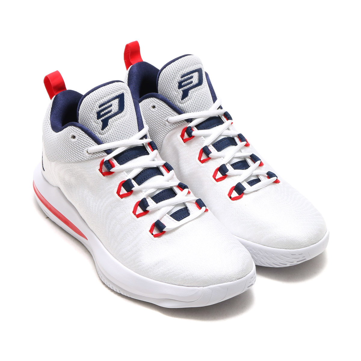 X AE (Nike Jordan CP3.X AE) WHITE MIDNIGHT NAVY-UNIVERSITY RED 17FA-I af79cb54e