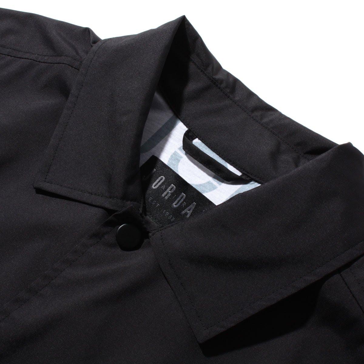 7e11d6a7a3b63a NIKE JUMPMAN COACHES JKT (Nike Jordan jump man coach jacket) BLACK WHITE  18SP-I