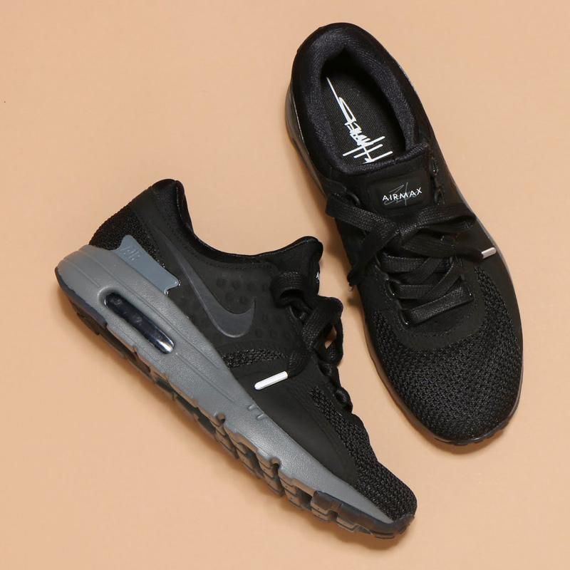 cheaper 9455e 842bf nike air max zero black dark grey