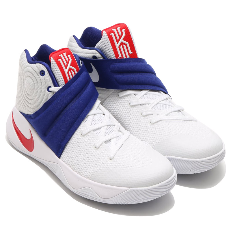 super popular 9ee34 cac53 ... USA Basketball Shoes WhiteUniversity RedDeep Royal Blue 819583 ... royal  blue nike kyrie 2 ep (nike kylie 2 ep) white .