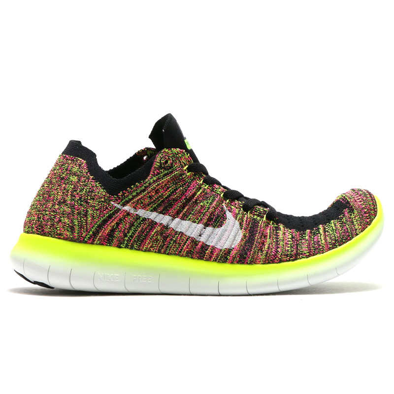 sports shoes 732b4 426f3 ... NIKE WOMENS FREE RUN FLAKNIT OC (Nike wmns free run Flint OC) MULTI  COLOR ...