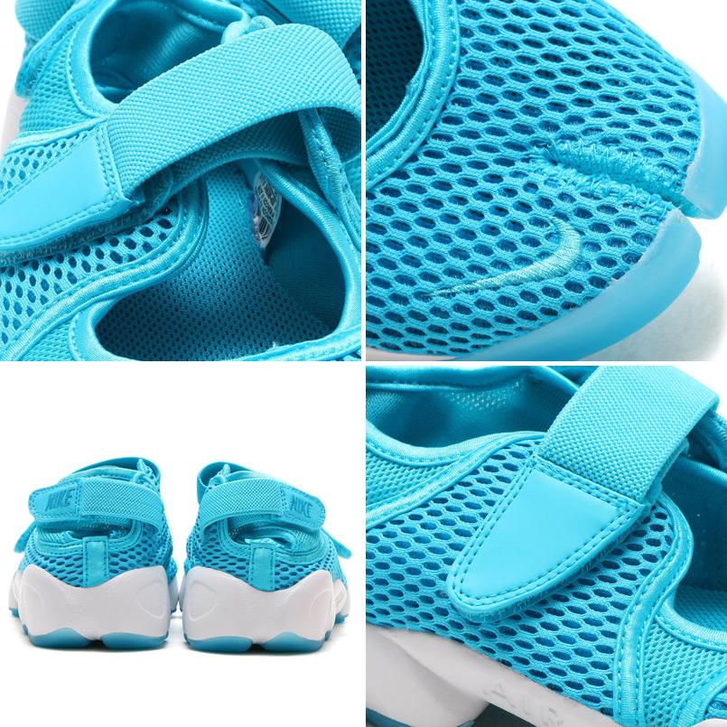 NIKE WMNS AIR RIFT BR (나이키위멘즈에아리후트브리즈) GAMMA BLUE/BLUE LAGOON-WHITE 16 SU-I