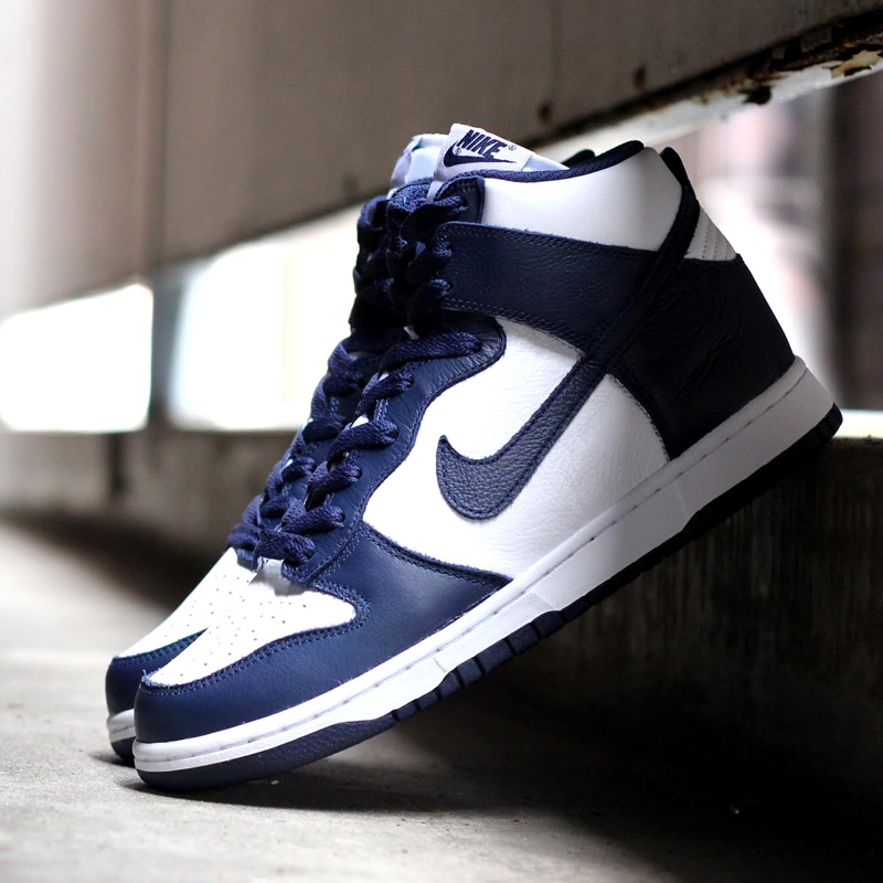 new concept b842c 9856d inexpensive nike dunk high navy black 4612b 270b7  get nike dunks for men white  midnight navy d2a0c 7100f