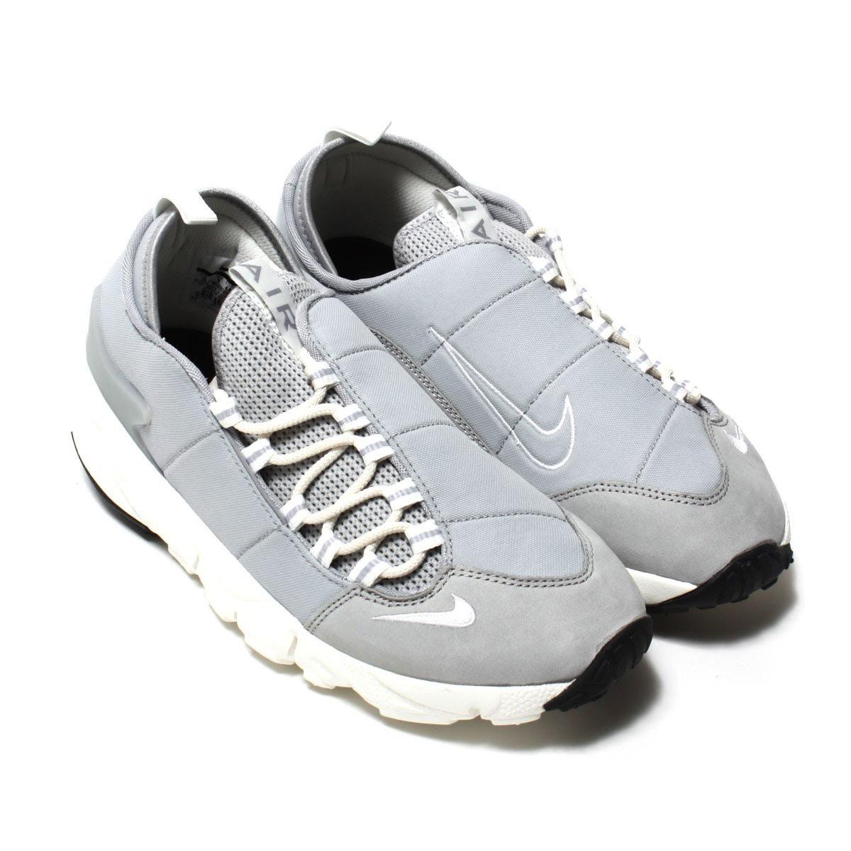 NIKE AIR FOOTSCAPE NM (Nike Air footscape NM) (WOLF GREY/SUMMIT  WHITE-BLACK) 17 SP-I