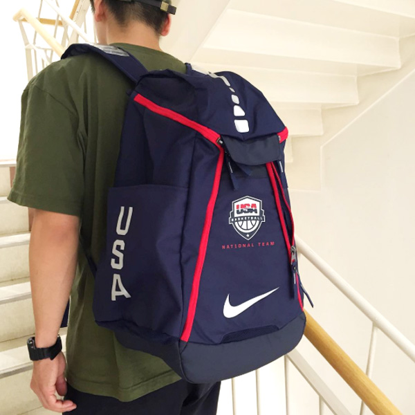 NIKE HOOPS ELITE MAX AIR TEAM BACKPACK USA(耐克铁环精英最大空气组背包USA)2色展开16FA-I