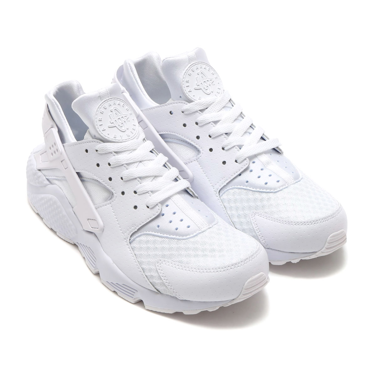 bf649fe4da9a NIKE AIR HUARACHE (Nike Air halti) (WHITE WHITE-PURE PLATINUM) 17 SP-I