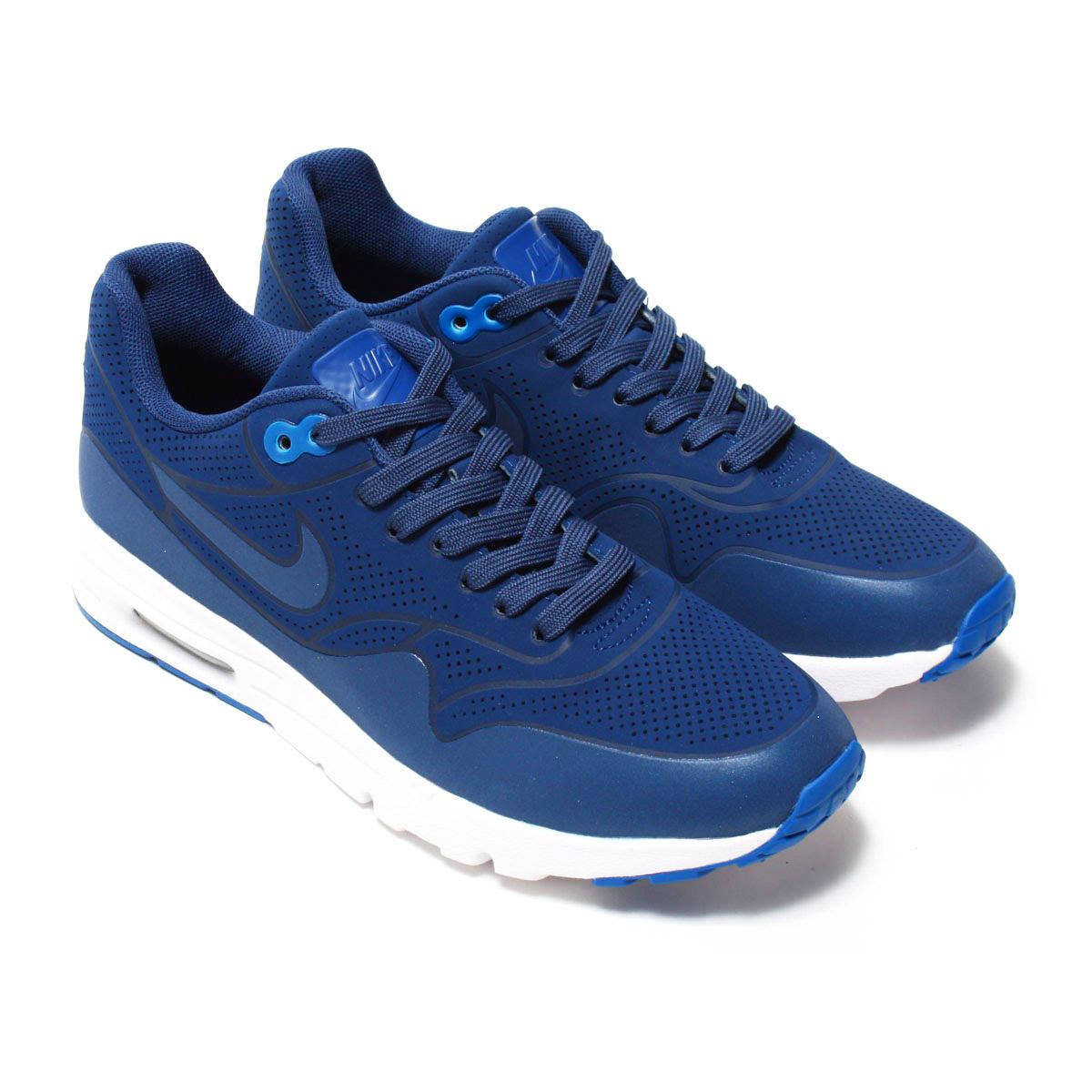 timeless design e3f7f d326a NIKE WMNS AIR MAX 1 ULTRA MOIRE (Nike wmns Air Max 1 ultra moire) COASTAL  BLUE COASTAL BLUE 16FA-I