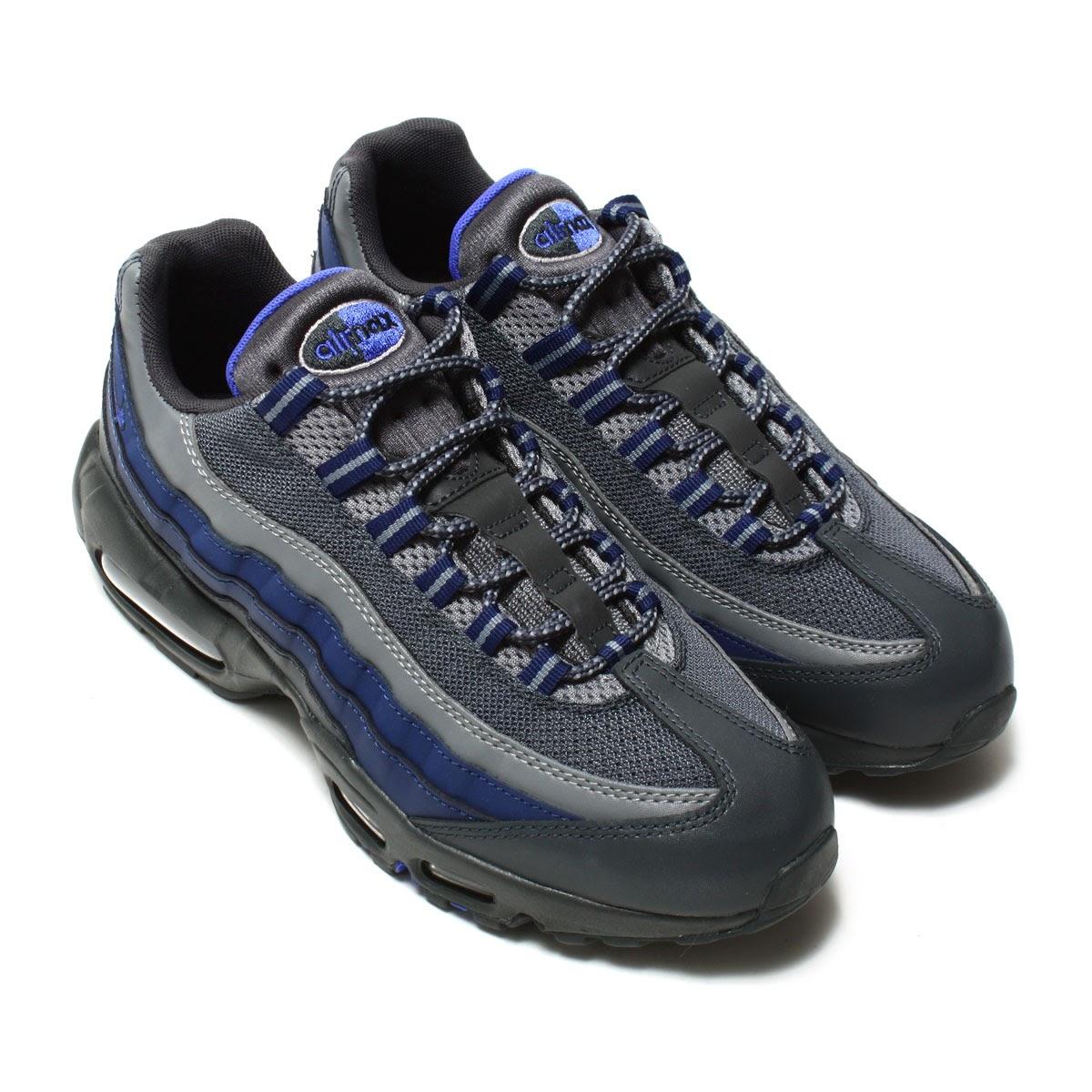 nike air max 95 gray blue