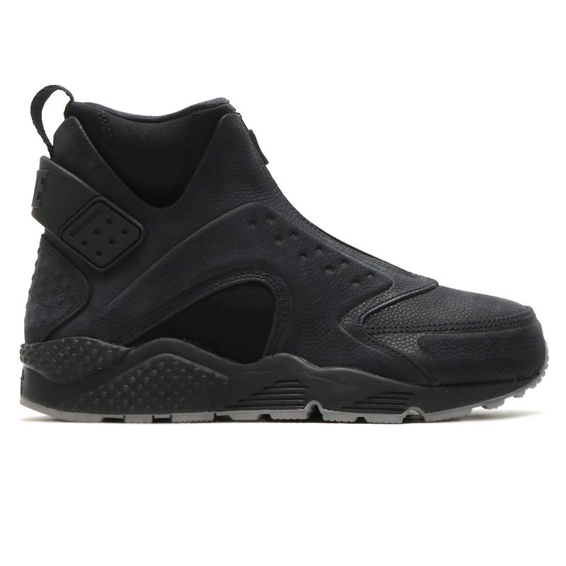 c6fb63fdabb16 NIKE WMNS AIR HUARACHE RUN MID PRM (Nike wmns air halti run mid premium) ( BLACK BLACK-DUST) 16 HO-I