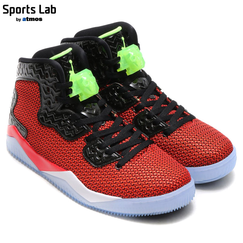 85e7a206378347 NIKE AIR JORDAN SPIKE FORTY (Nike Air Jordan spike Fortinet) UNIVERSITY RED GHOST  GREEN-BLACK-WHITE 16SP-S