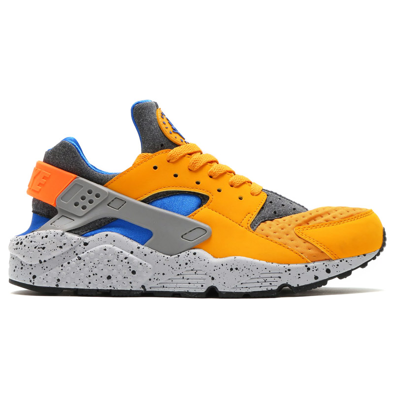 NIKE AIR HUARACHE RUN SE (Nike Air halti run SE) GOLD LEAF/HYPER COBALT-HYPER COBALT 16HO-I