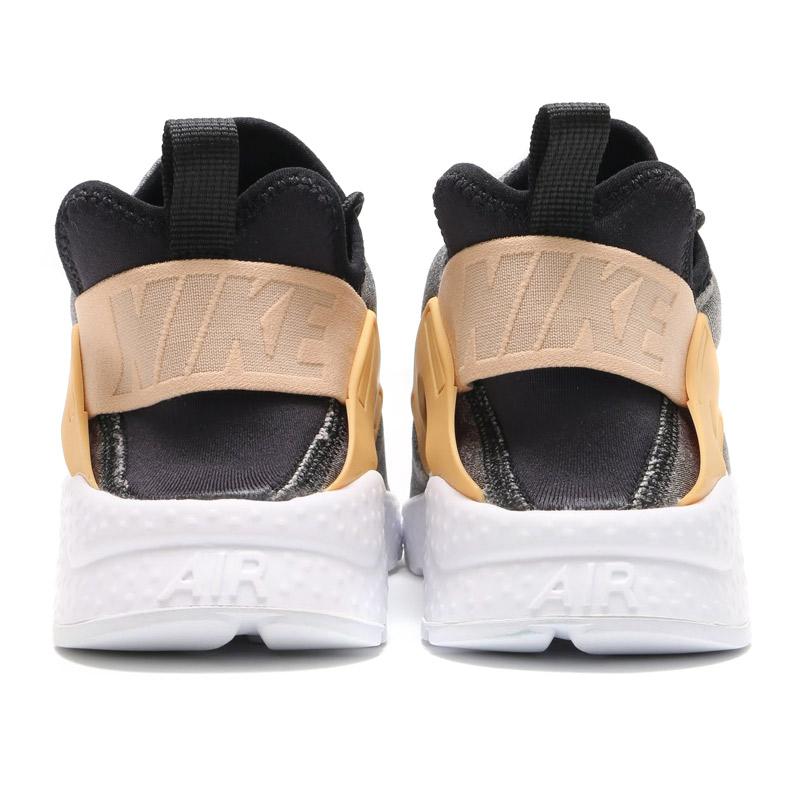 NIKE WMNS AIR HUARACHE RUN ULTRA SE (Nike wmns air halti run ultra SE) BLACK/BLACK-VACHETTA TAN-WHITE 16HO-I