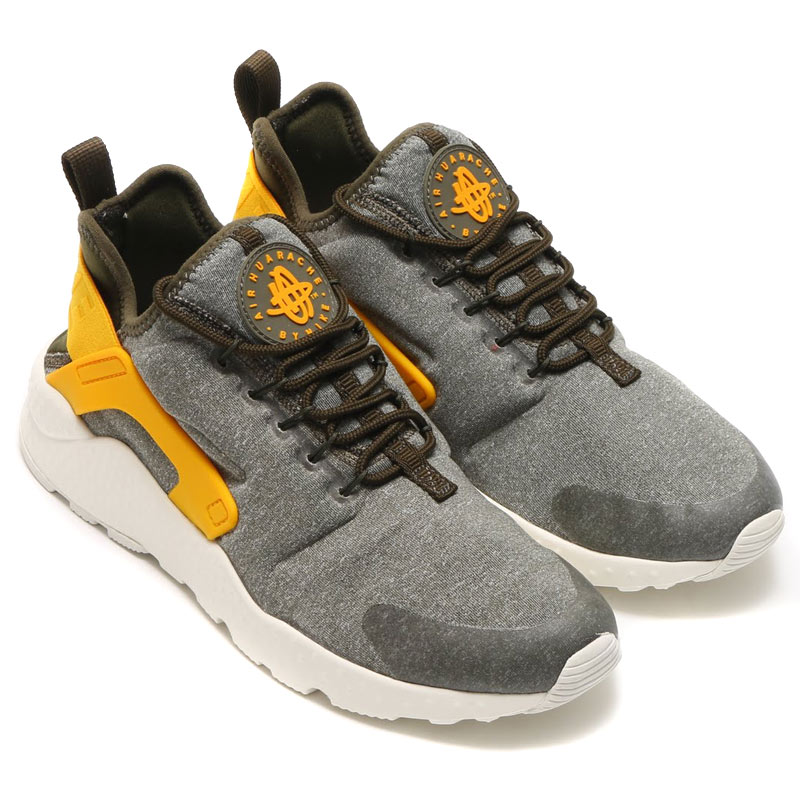 00a905978b2ae NIKE WMNS AIR HUARACHE RUN ULTRA SE (Nike wmns air halti run SE ultra) DK  LODEN DK LODEN-GOLD LEAF-SAIL 16HO-I