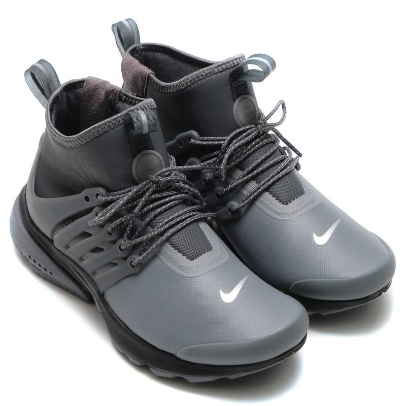 atmos pink  NIKE WMNS AIR PRESTO MID UTILITY Nike women air Presto mid (DK  GREY DK GREY-REFLECT SILVER-BLACK) 16 HO-I  12dee0e04