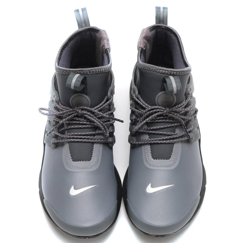 size 40 3d4bf 95ab9 NIKE WMNS AIR PRESTO MID UTILITY Nike women air Presto mid (DK GREY DK GREY-REFLECT  SILVER-BLACK) 16 HO-I