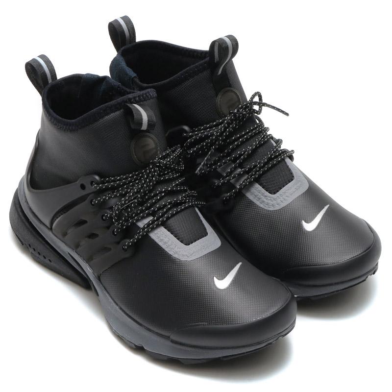 hot sale online 0c008 260f8 ... NIKE WMNS AIR PRESTO MID UTILITY Nike women air Presto mid  (BLACKBLACK-REFLECT SILVER ...