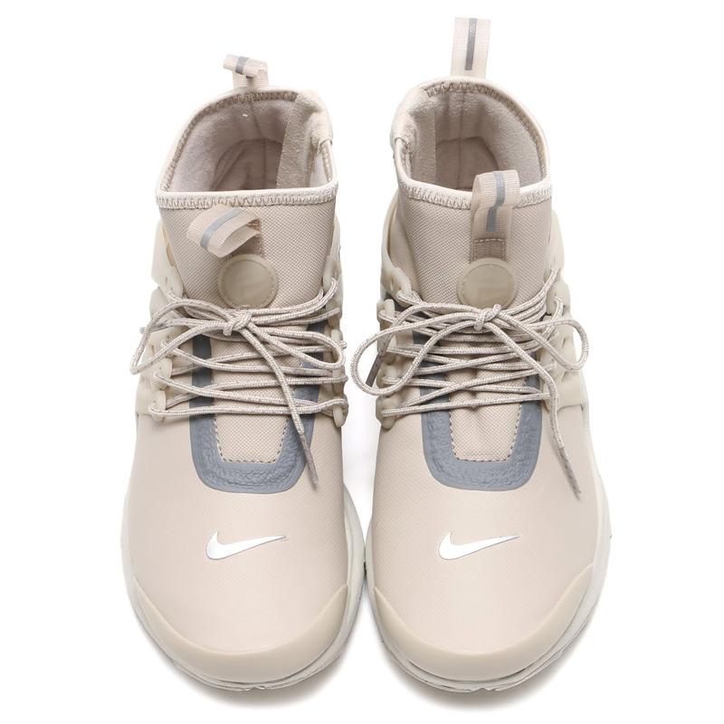 reputable site a10a3 de920 NIKE WMNS AIR PRESTO MID UTILITY Nike women air Presto mid  (STRING STRING-REFLECT SILVER-LT BONE) 16 HO-I