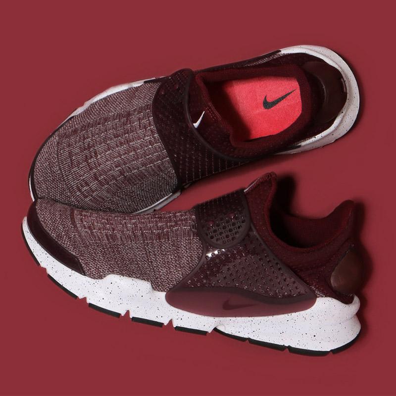 buy popular f45d0 03faf NIKE SOCK DART SE PREMIUM Nike sock dirt SE NIGHT MAROON NIGHT MAROON-UNIV  RED-WHITE 16HO-S