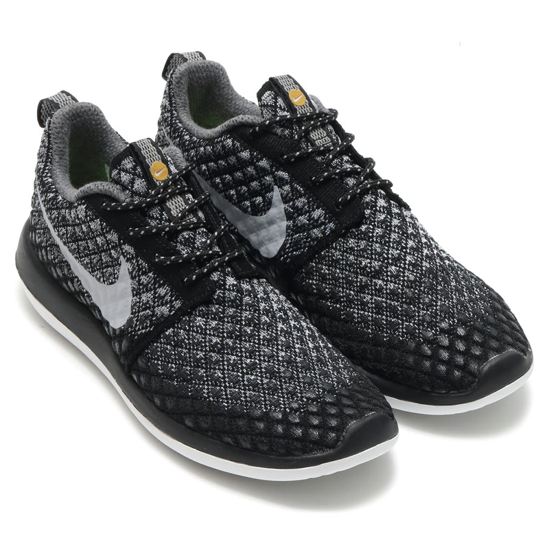reputable site 1110d d8c0a NIKE WMNS ROSHE TWO FLYKNIT 365 (Nike women s Ros-to-Flint 365) WOLF GREY WOLF  GREY-BLACK-WHITE-VOLT-MTLC GOLD) 16 HO-I