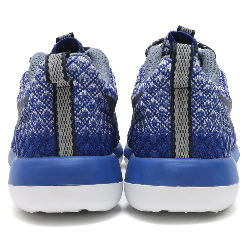 NIKE WMNS ROSHE TWO FLYKNIT 365 (Nike women's Ros-to-Flint 365) DEEP ROYAL BLUE/OCEAN FOG-WOLF GREY-WHITE-PURE PLATINUM) 16 HO-I