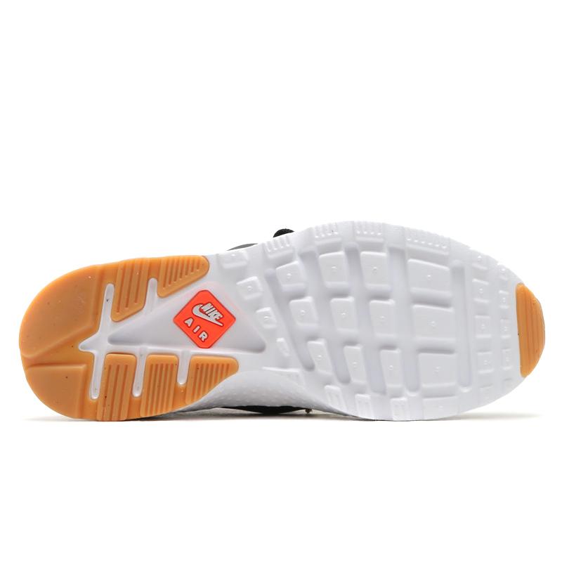 new arrival fc8bf 0eebd NIKE WMNS AIR HUARACHE RUN ULTRA JCD PRM (Nike wmns air halti run ultra  premium Jacquard) (BLACK HOT LAVA-GUM YELLOW-WHITE) 16 HO-I