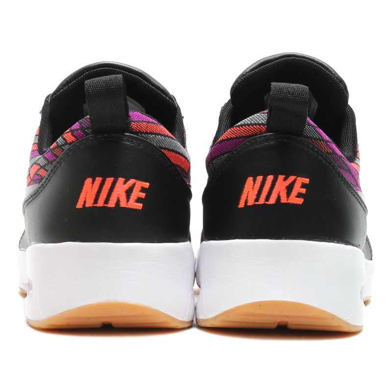 NIKE WMNS AIR MAX THEA ULTRA JCRD PRM (나이키위멘즈에아막스시아우르트라쟈카드프레미암) (BLACK/BLACK-GUM YELLOW-WHITE) 16 HO-I