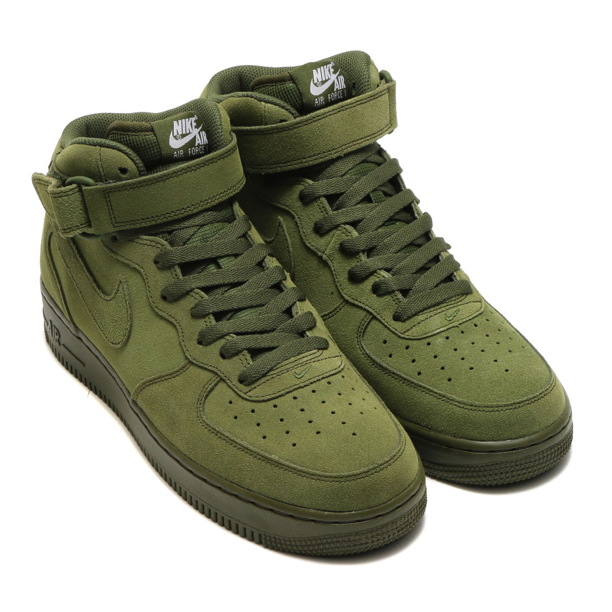 nike air force 1 mid 07 verde oliva
