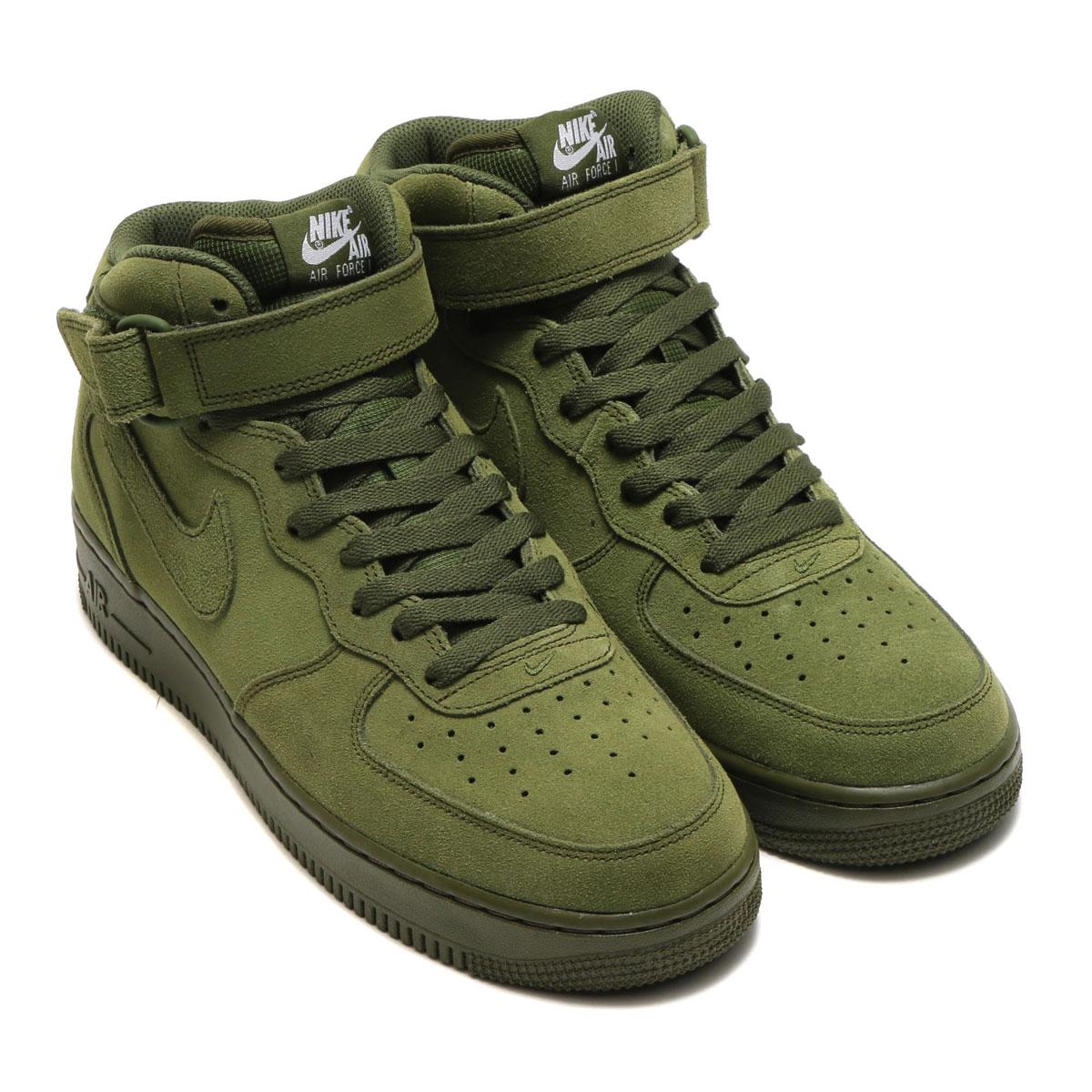 newest fb781 c627a good nike air force 1 mid green 9cbd8 39856