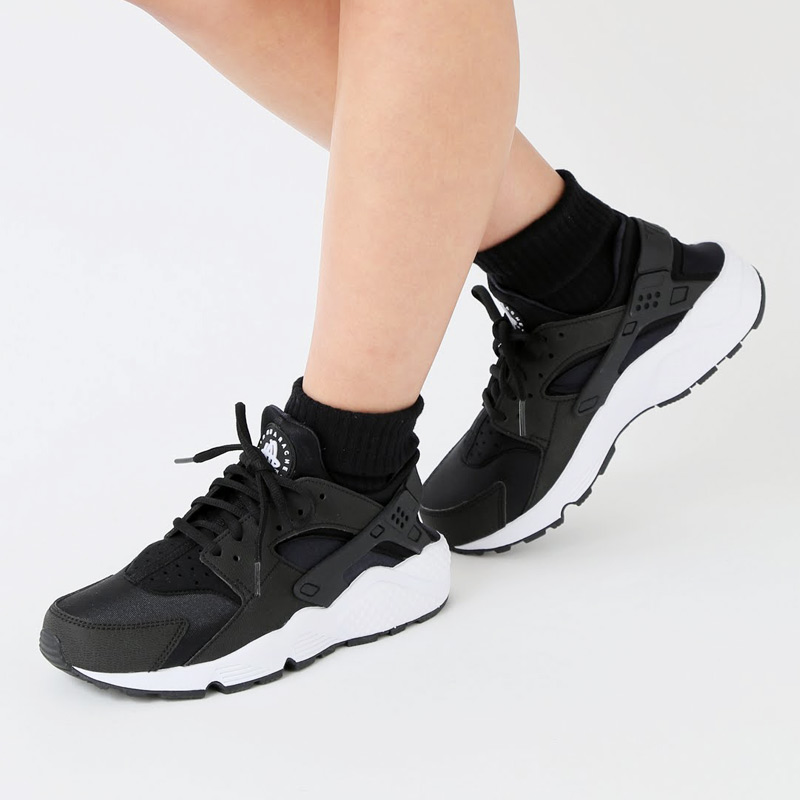 e1f2f3a20 Super Sale duration limited ☆ shop all targets! Point up to 20 times! NIKE  WMNS AIR HUARACHE RUN (Nike wmns air halti) (BLACK BLACK-WHITE) 17 SP-I