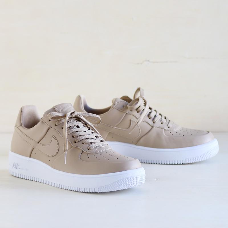 nike air force 1 beige leather
