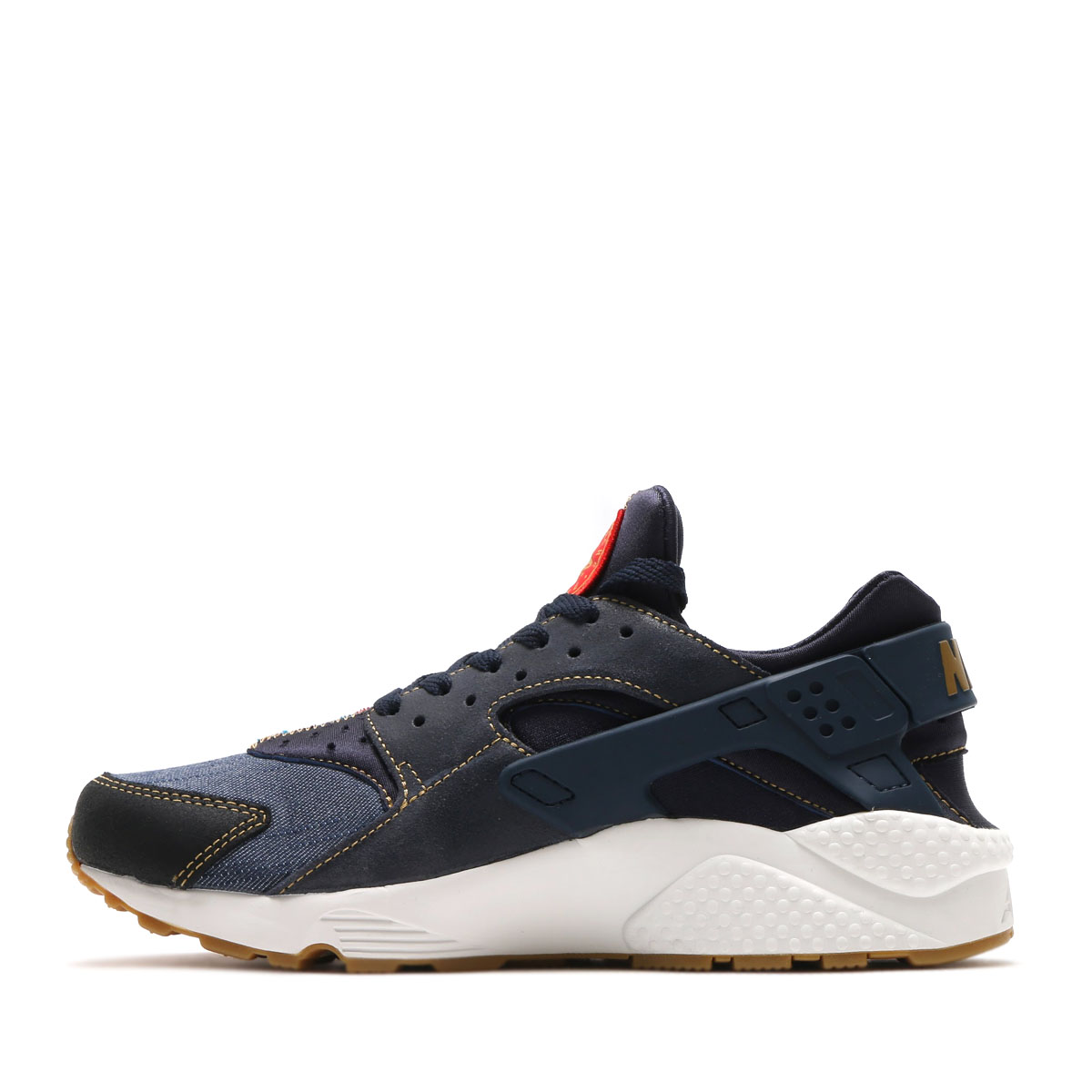 NIKE AIR HUARACHE RUN SE (ナイキエアハラチラン SE) (DARK OBSIDIAN/DARK OBSIDIAN-SUMMIT WHITE) 17SU-S