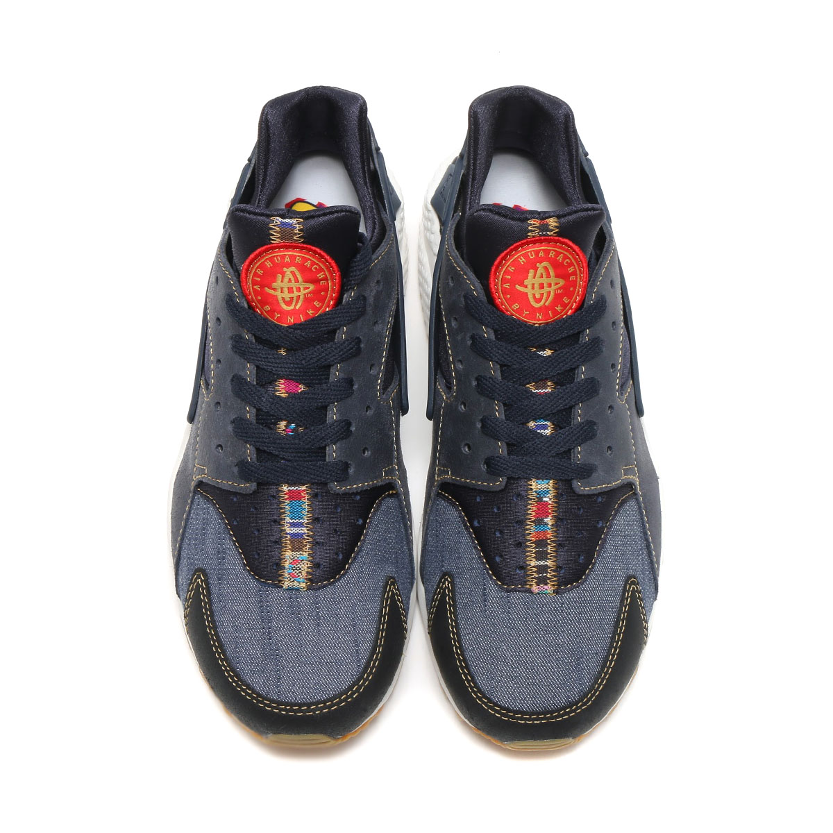NIKE AIR HUARACHE RUN SE (나이키에아하라치란 SE) (DARK OBSIDIAN/DARK OBSIDIAN-SUMMIT WHITE) 17 SU-S