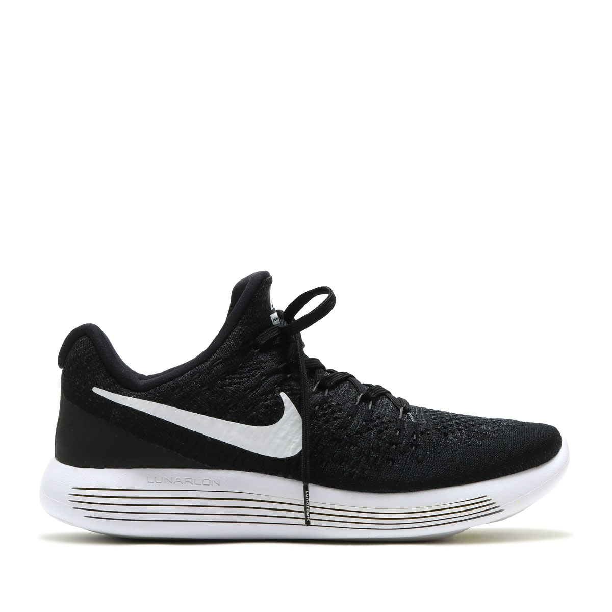 NIKE LUNAREPIC LOW FLYKNIT 2 (나이키 루나 서사시 로 플라이 니트 2) (BLACK/WHITE-ANTHRACITE) 17 SP-S