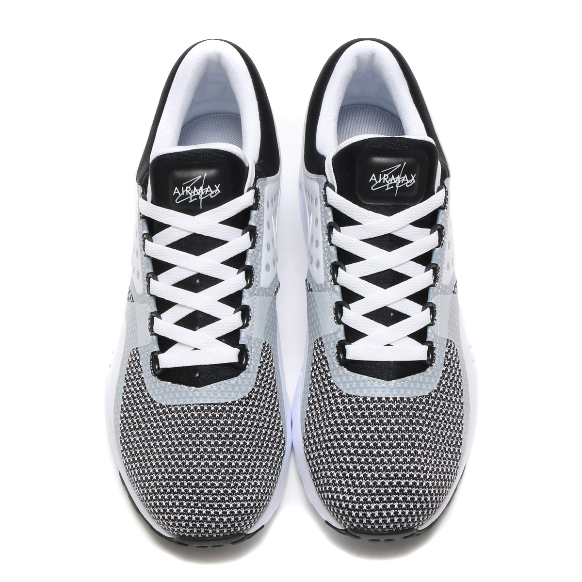 34a75539bdce NIKE AIR MAX ZERO ESSENTIAL (Nike Air Max essential zero) (BLACK WHITE-WOLF  GREY) 17 SP-I